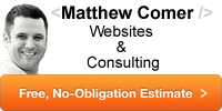 Matthew Comer Websites